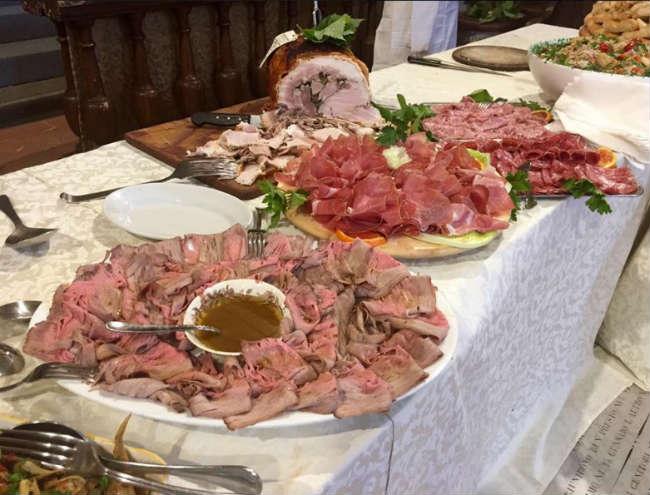 prezzi catering pranzo buffet firenze